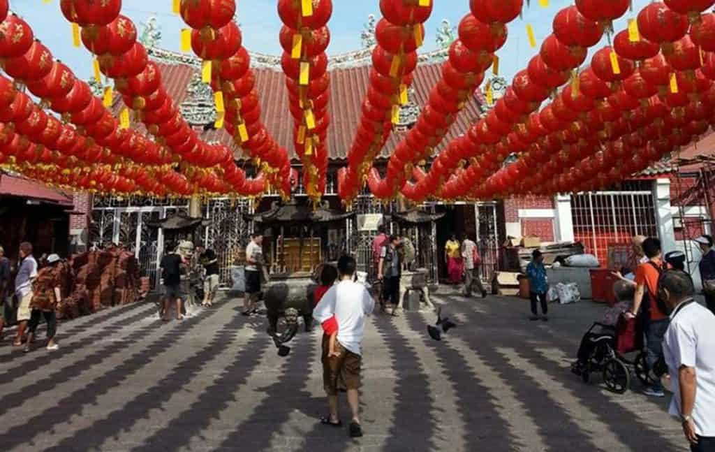 Guan Yin Temple, Chinese New Year,Penang