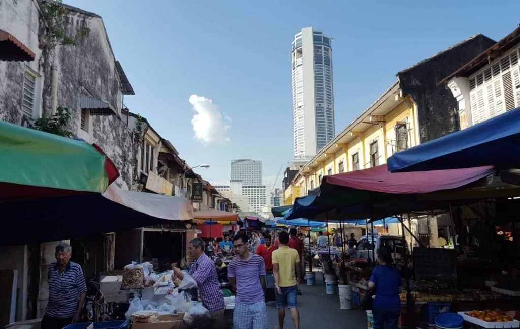 chowrasta market penang