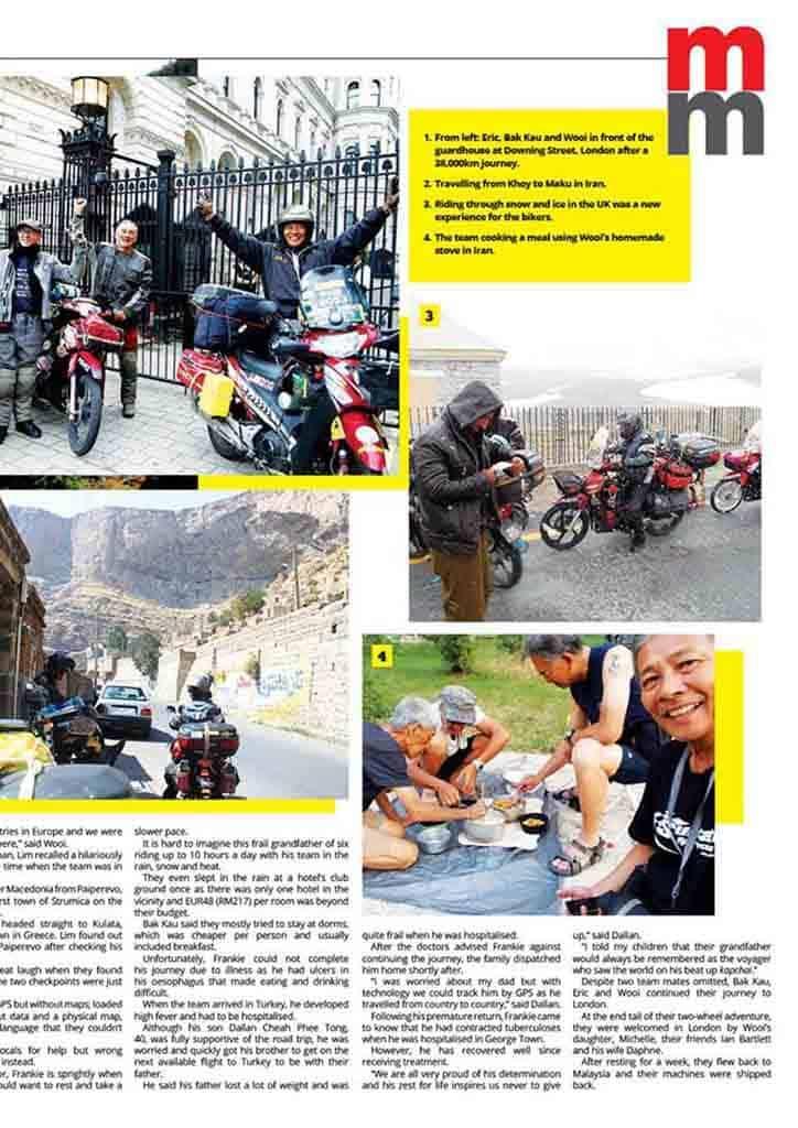 touride penang to downing street 2
