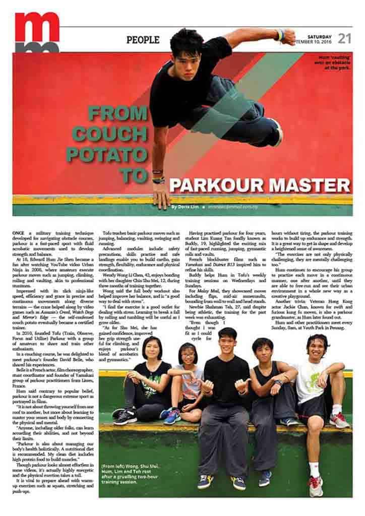 Parkour Master Penang