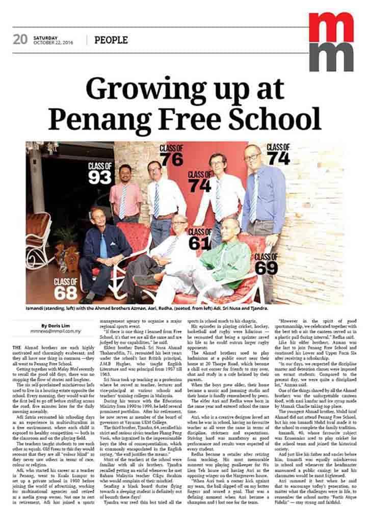 Penang Free School Old Boys