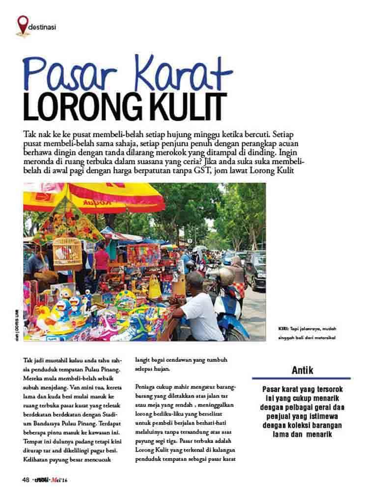 Lorong Kulit Flea Market 1