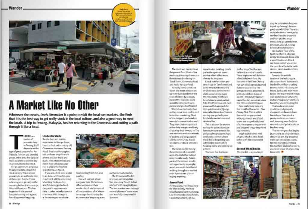 A Market Like No Other - Chowrasta Market Penang