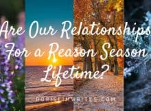 Are Our Relationships For a Reason, Season, Lifetime?
