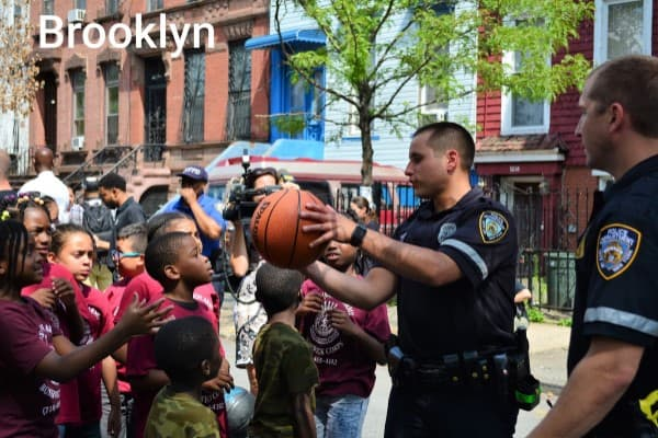 US Police Officer - Basketball Cop Game Changer Story